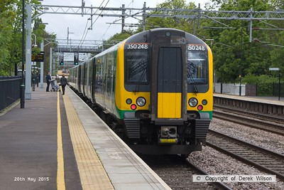 150520-017     London Midland class 350 EMU no 350248 calls at Atherstone with 1U27, the 08.46 London Euston to Crewe