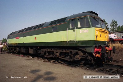 910901-022  D1500 Star of the East (Worksop open day, 1-9-91)